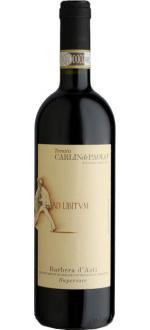 Carlin de Paolo Ad Libitvm Barbera d'Asti Superiore
