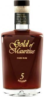 RHUM GOLD OF MAURITIUS SOLERA 5 ANS
