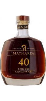Maynard's 40 ans