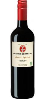 """Réserve Spéciale """"Merlot"""" Gérard Bertrand"""